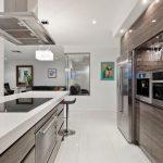 moderne afwerking keuken